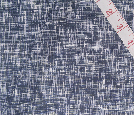 LARGE Navy + white linen-weave by Su_G