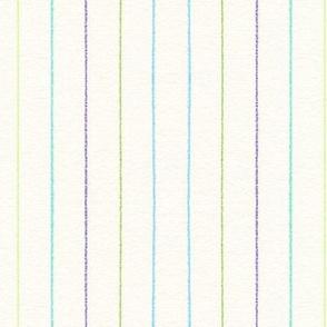 Blue Green Purple Stripes
