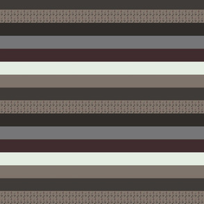 Antiphonal Horizontal Stripes