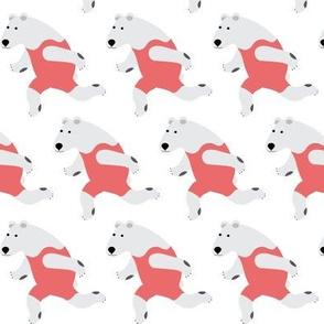 Running Polar Bear