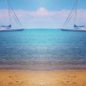 Ocean sailboats