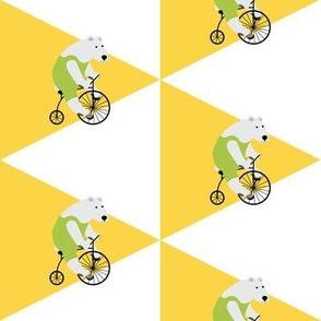 Cycling Polar Bear Triangles
