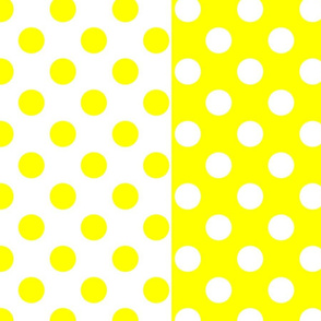 Yellow-White_polka-dots
