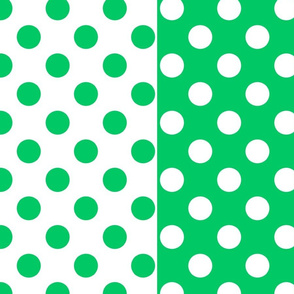 Teal-White_polka-dots
