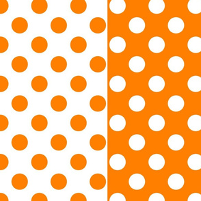 Orange-White_polka-dots