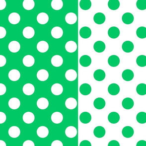 White-Teal_polka-dots