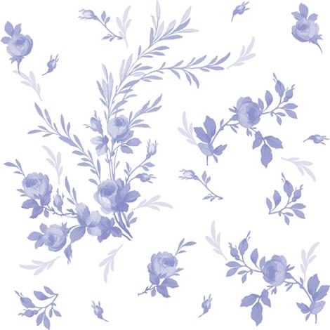 Theodora in blue violet