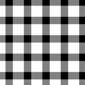 Classic black and white plaid by Su_G