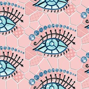 Window Eyes: Rose Quartz - Barcelona