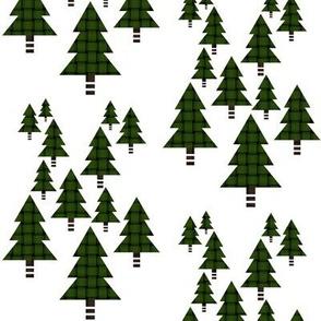 Woven Xmas Trees
