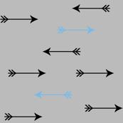 > straight & arrow <