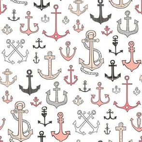 Anchors in Peach