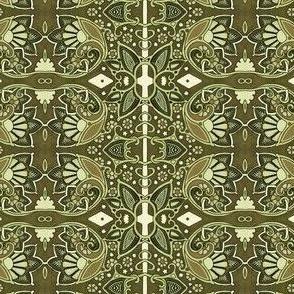 Retro Deco Kaleidoscope Gardening