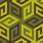 greek cube : leafy dim sum