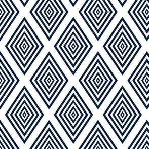 Diamond-pane Window Pattern Geometric by Su_G
