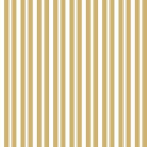 Khaki Beige Deckchair Stripes