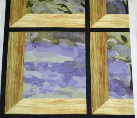 Attic Window On Bluebell Wood
