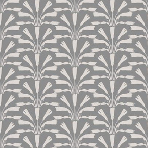 Flower Spray Grey