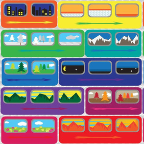 Rainbow_train
