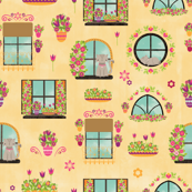 Flowery windows