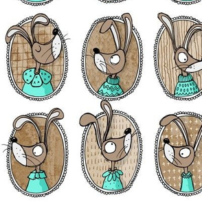 Choc Mint Bunnies