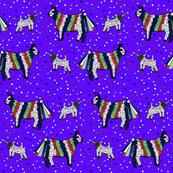 Bulls &Lambs Pinatas with candy falling