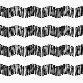 Chevron Scribble Pattern 1