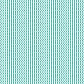 Wavy - Dark Turquoise