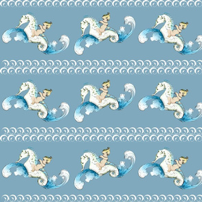 Boy on a Sea Horse