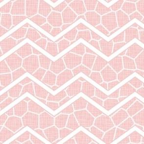 Rose Quartz Chevron