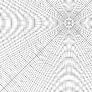 polar graph : large square
