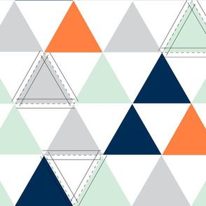 Orange Hamptons Triangle