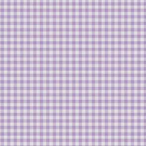Purple Gingham Check