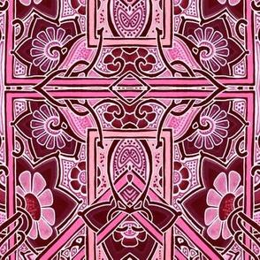 Pink Block Garden