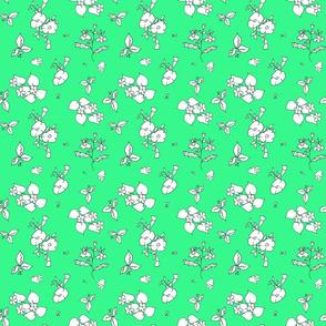Green Garden Flowers