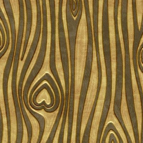 Golden Heart Wood Grain