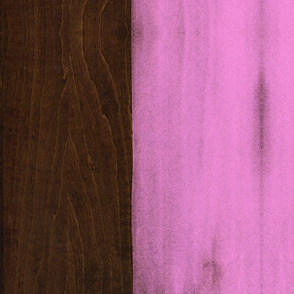 Pink Paint on Wood
