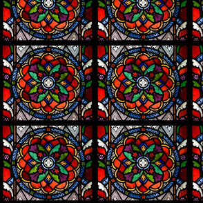 stained glass multipane