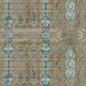 Rabbit mat stripe