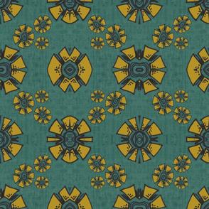 Mustard Kaleidoscope Dreams