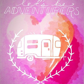 Let's be Adventurers in Pink