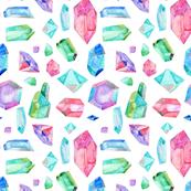 Watercolour Gems