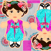 Akira Cut n Sew Doll