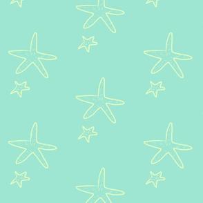 Pistachio Star Fish