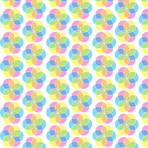 Spring Pastels Colorway - Medallions Small