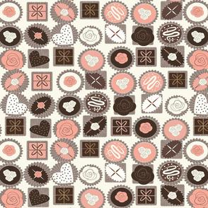chocolates cream