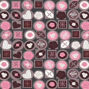chocolates pink