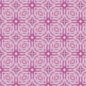 Sorbet Pink Geometric Lattice