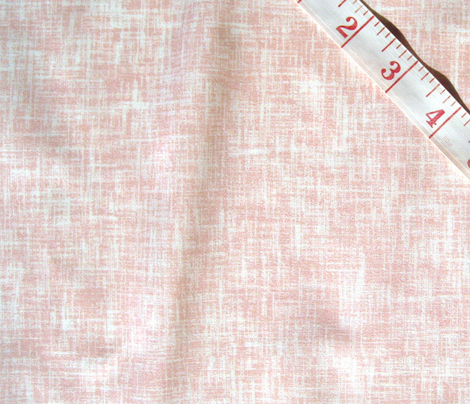 Rose + white linen-weave, LARGE (limited palette) by Su_G