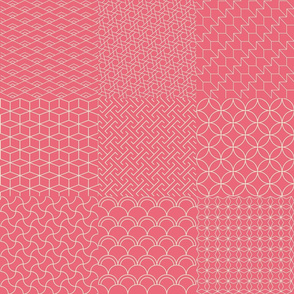 Cheaterquilt Japan pink